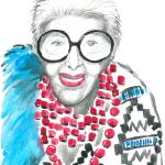 Iris Apfel - mistrzyni eklektyzmu.